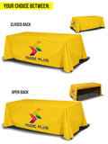 Full Custom Table Cover - The Lemon Print | Online Marketing and T-Shirt Print Shop | Miami, Florida