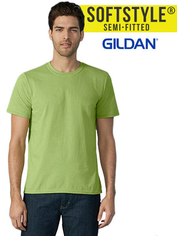 Gildan Softstyle® Adult Tee - The Lemon Print | Online Marketing and T-Shirt Print Shop | Miami, Florida