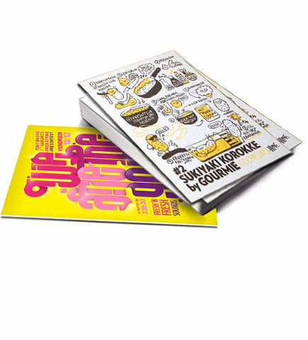 Standard Flat Postcards 8.5'' x 5.5'' - The Lemon Print | Online Marketing and T-Shirt Print Shop | Miami, Florida