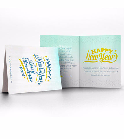 Standard Folded Greeting Cards 6'' x 6''