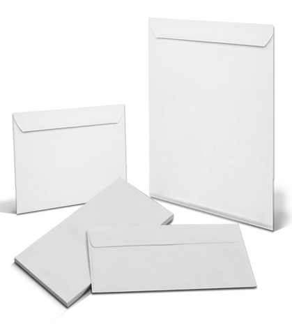Blank Envelopes - The Lemon Print | Online Marketing and T-Shirt Print Shop | Miami, Florida