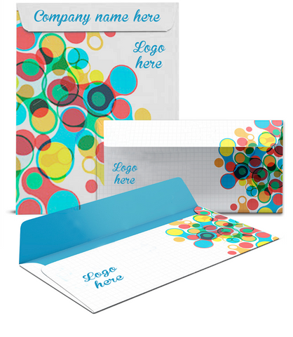 Full Print Envelopes (Offset) - The Lemon Print | Online Marketing and T-Shirt Print Shop | Miami, Florida
