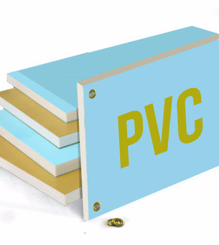PVC Plastic Board - 18'' x 24'' - The Lemon Print | Online Marketing and T-Shirt Print Shop | Miami, Florida