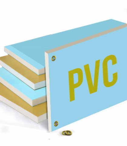 PVC Plastic Board - 18'' x 46'' - The Lemon Print | Online Marketing and T-Shirt Print Shop | Miami, Florida