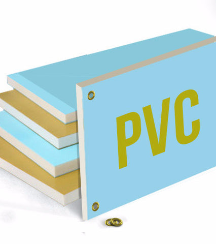 PVC Plastic Board - 24'' x 36'' - The Lemon Print | Online Marketing and T-Shirt Print Shop | Miami, Florida
