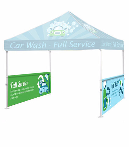 10ft Tent Half Wall - The Lemon Print | Online Marketing and T-Shirt Print Shop | Miami, Florida