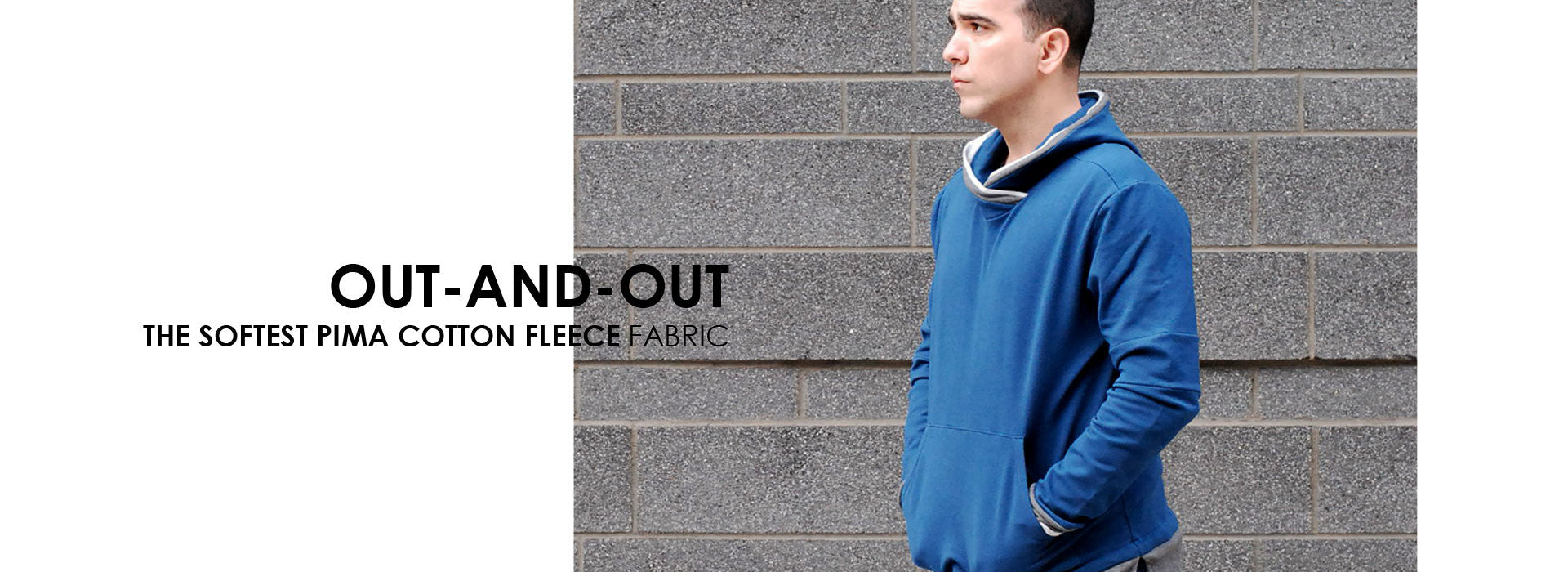 Out and Out The Softest Pima Cotton Fleece Fabric