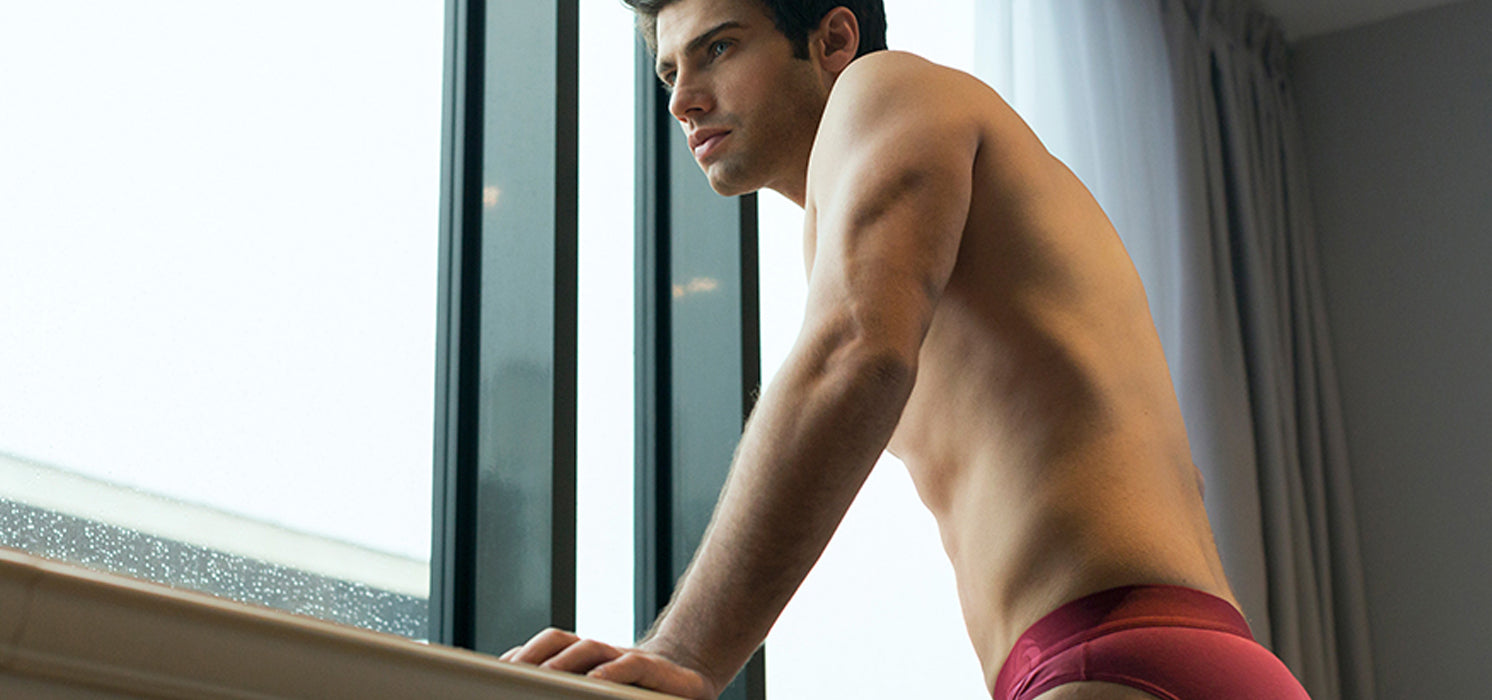 Men's Potent Purple 2SOFT™ Boxer Briefs with our Speedy PullOut™ Fly