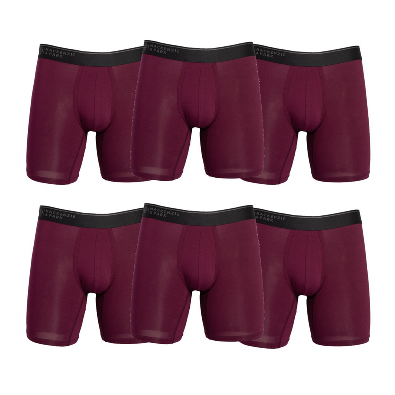 6-Pack Pocket Mesh Pouch Boxer Brief