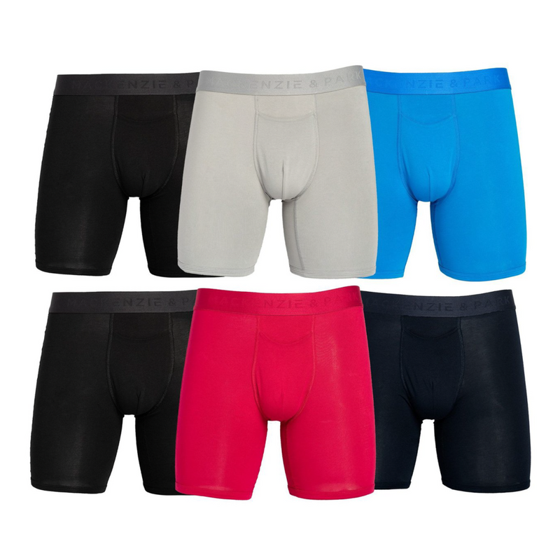 6-Pack Horizontal Fly Boxer Brief