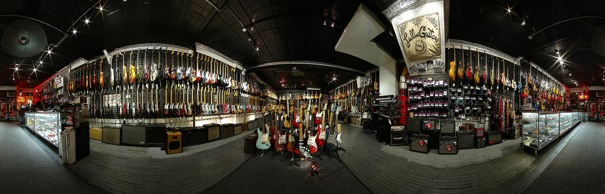 Ludlow Guitars old store inside