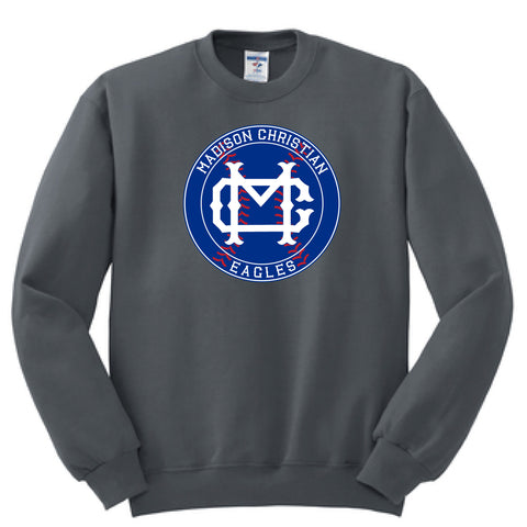 2019 Baseball/Softball Crew Neck Sweatshirt