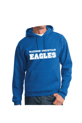 Madison Christian Hoodie - Royal Blue