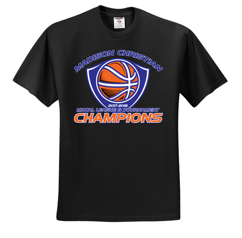 2017-2018 MS Girls BKB Championship T-Shirt