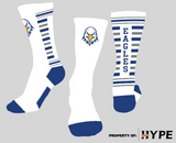 MCS Socks - WHITE or Royal Blue/Grey