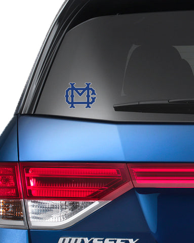 MC Car Decal/Sticker