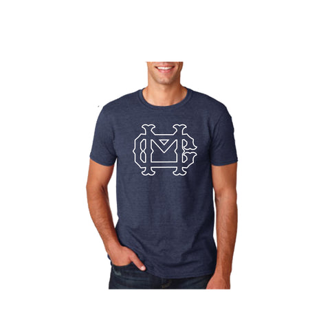 MC T-shirt Heather Navy (Adult Sizes Only)