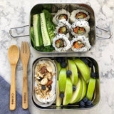 Ever Eco Stainless Steel Stackable Bento Box