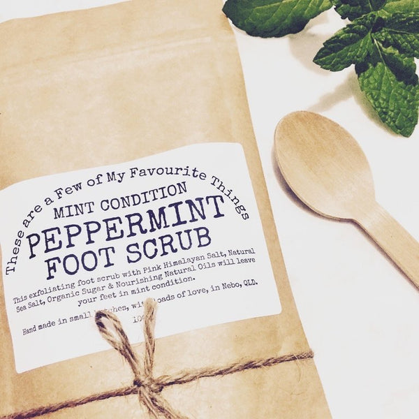 Mint Condition Peppermint Foot Scrub