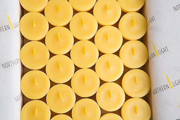 Australian Organic Beeswax Tealight Candles