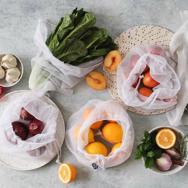 Ever Eco Reusable Mesh Produce Bags Set of 4