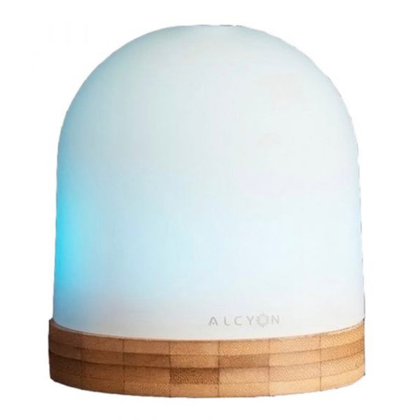 Sol Glass and Bamboo Ultrasonic Diffuser