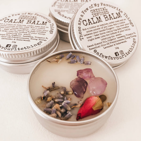 Crystal Infused Calm Balm 15g