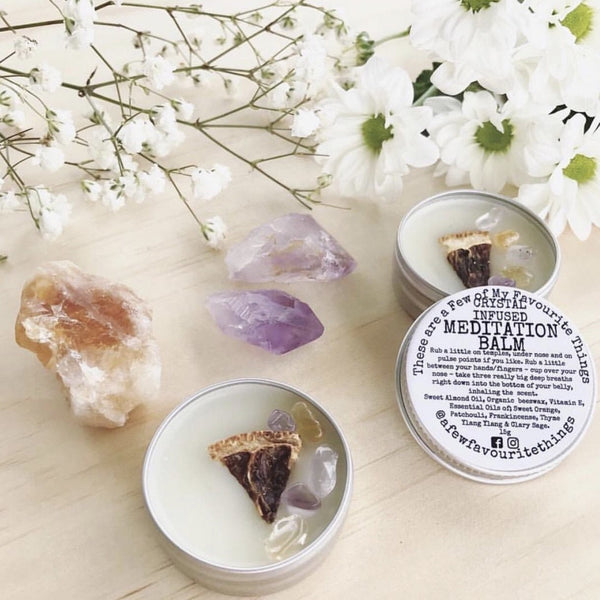 Crystal Infused Meditation Balm 15g