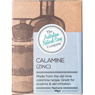Calamine (Zinc) Natural Soap Bar