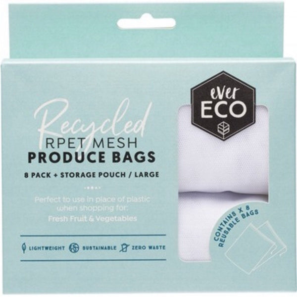 Ever Eco Reusable Mesh Produce Bags Set of 8
