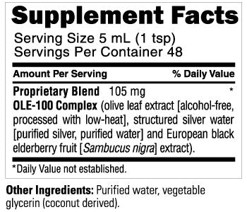 TriGuard H2O Supplement Facts