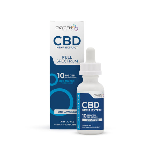Full Spectrum 10MG Per Serving CBD Oil