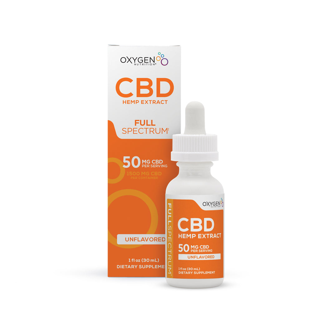 Full Spectrum 50MG Per Serving CBD Oil