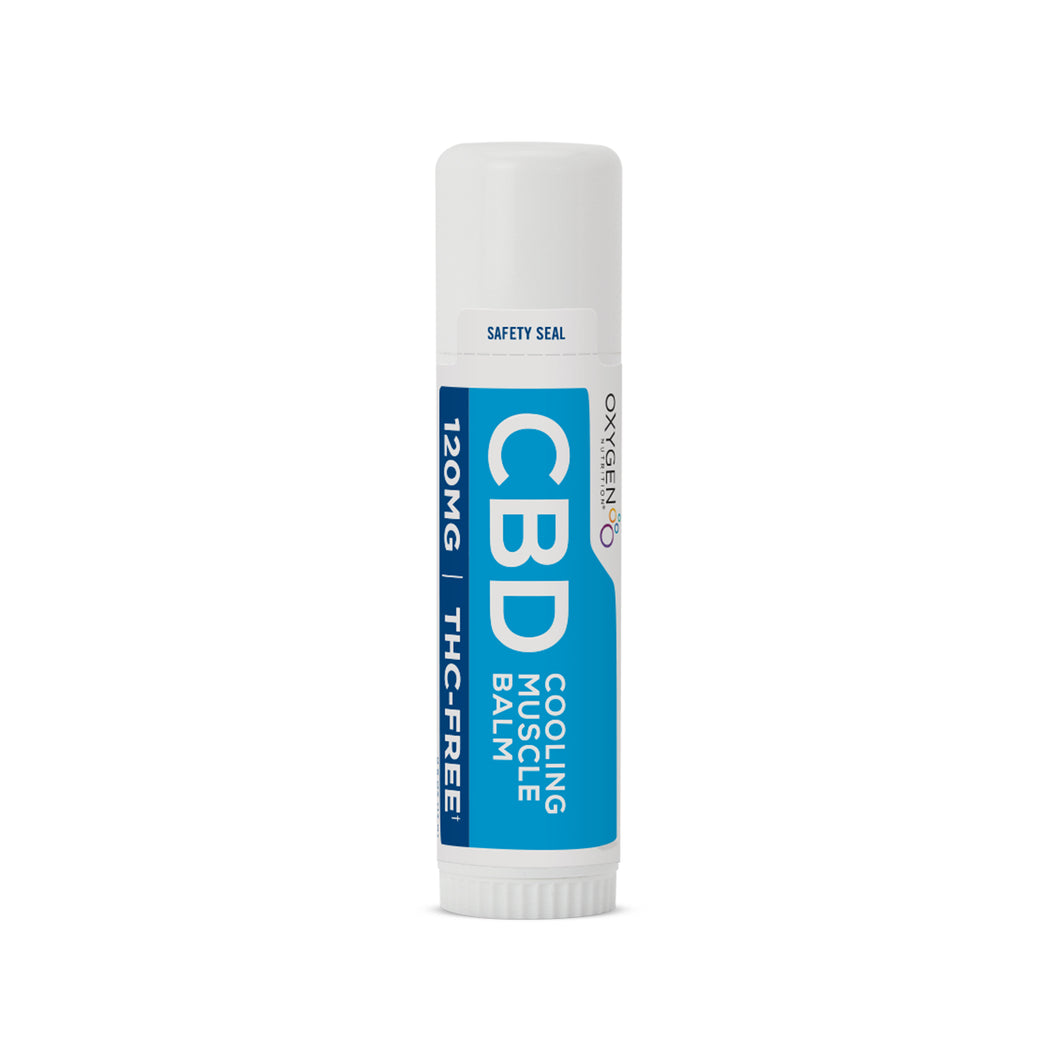 Certified THC-FREE 120 MG CBD Infused Cooling Muscle Balm