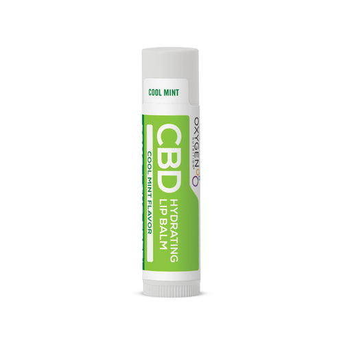 Certified THC-FREE 50 MG Cool Mint CBD Lip Balm