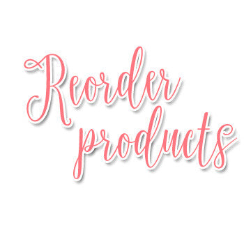 Reorder Products