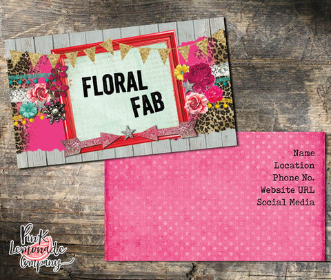 Floral Fab Business Card