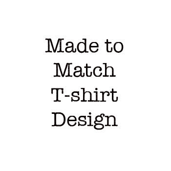 Made to Match Commercial T-shirt Design