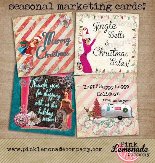 Christmas Marketing Cards