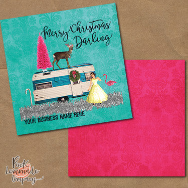 Junky Trailer Christmas Marketing Cards