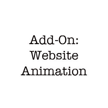 Add-On Website Animation