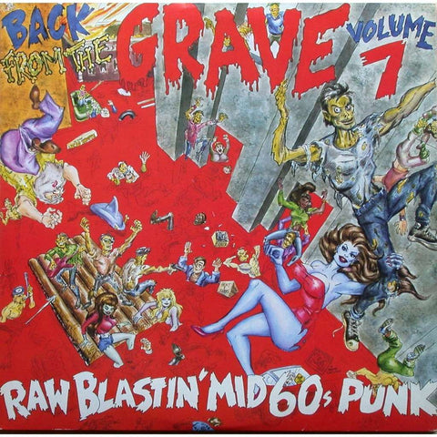 Various - Back From the Grave, Vol 7: Raw Blastin' Mid-60s Punk 2LP