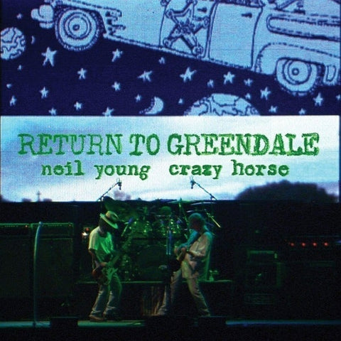 Neil Young & Crazy Horse - Return to Greendale: Live 2003 2LP