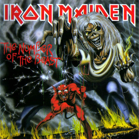 Iron Maiden - Number of the Beast LP