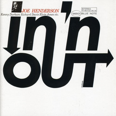 Joe Henderson - In 'N Out LP