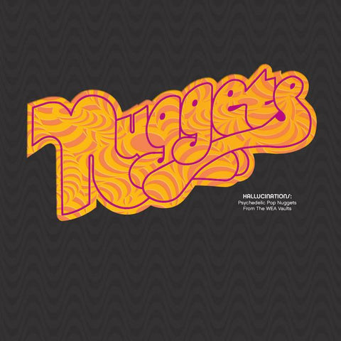 Various - Nuggets / Hallucinations: Psychedelic Pop Nuggets from the WEA Vaults 2LP