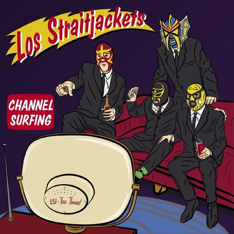 Los Straitjackets - Channel Surfing 12""