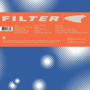 Filter - Title of Record 2LP