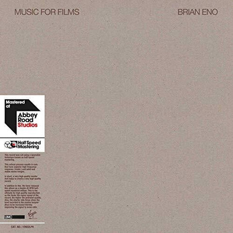 Brian Eno - Music for Films 2LP