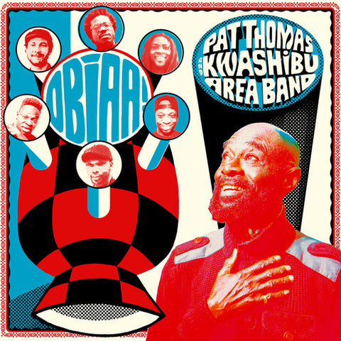 Pat Thomas Kwashibu Area Band - Obiaa! 2LP